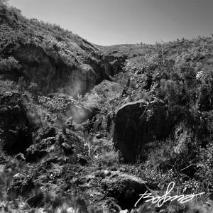 Hobleys dormant volcano