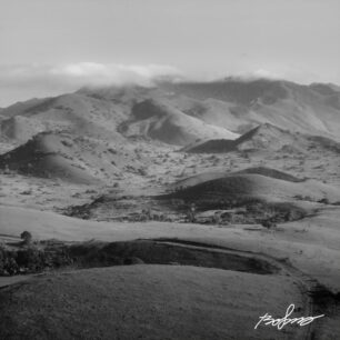 Chyulu Hills on an early morning