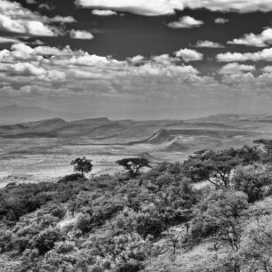 The Rift Valley on a sunny day