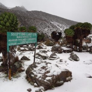 Snow at the equator